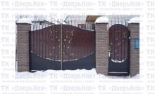 Ворота виноград