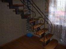 Лестница из металлической трубы