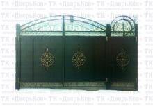 Ворота фигурные